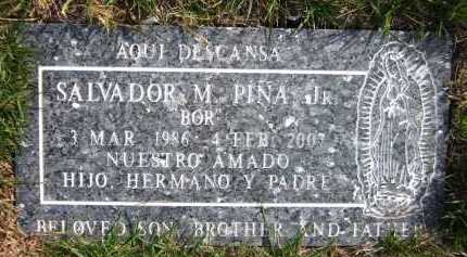 PINA  JR, SALVADOR M. - Douglas County, Nebraska | SALVADOR M. PINA  JR - Nebraska Gravestone Photos