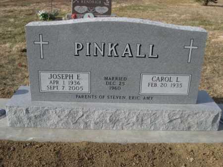 PINKALL, JOSEPH E - Douglas County, Nebraska | JOSEPH E PINKALL - Nebraska Gravestone Photos