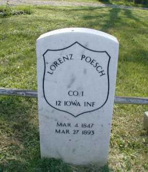 POESCH, LORENZ - Douglas County, Nebraska | LORENZ POESCH - Nebraska Gravestone Photos