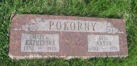 POKORNY, KATHERINE - Douglas County, Nebraska   KATHERINE POKORNY - Nebraska Gravestone Photos