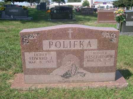 POLIFKA, EDWARD J. - Douglas County, Nebraska | EDWARD J. POLIFKA - Nebraska Gravestone Photos