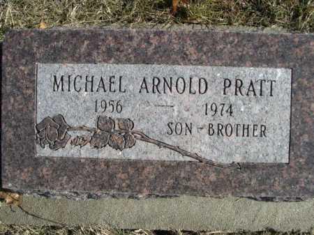 PRATT, MICHAEL ARNOLD - Douglas County, Nebraska | MICHAEL ARNOLD PRATT - Nebraska Gravestone Photos
