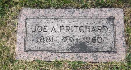 PRITCHARD, JOE A. - Douglas County, Nebraska   JOE A. PRITCHARD - Nebraska Gravestone Photos