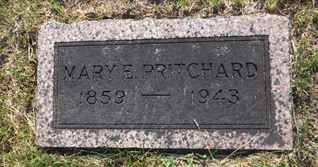 PRITCHARD, MARY E. - Douglas County, Nebraska | MARY E. PRITCHARD - Nebraska Gravestone Photos