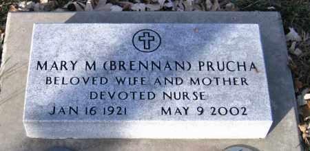 BRENNAN PRUCHA, MARY M. - Douglas County, Nebraska | MARY M. BRENNAN PRUCHA - Nebraska Gravestone Photos