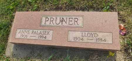 PRUNER, LLOYD - Douglas County, Nebraska   LLOYD PRUNER - Nebraska Gravestone Photos