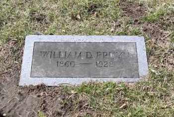 PRUYN, WILLIAM D. - Douglas County, Nebraska | WILLIAM D. PRUYN - Nebraska Gravestone Photos