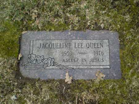 QUEEN, JACQUELINE LEE - Douglas County, Nebraska | JACQUELINE LEE QUEEN - Nebraska Gravestone Photos