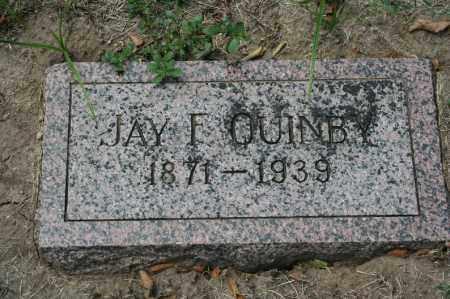 QUINBY, JAY F. - Douglas County, Nebraska | JAY F. QUINBY - Nebraska Gravestone Photos