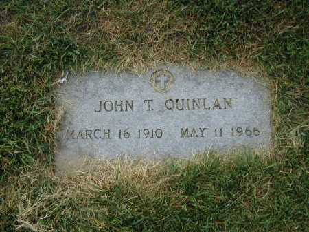 QUINLAN, JOHN T - Douglas County, Nebraska | JOHN T QUINLAN - Nebraska Gravestone Photos