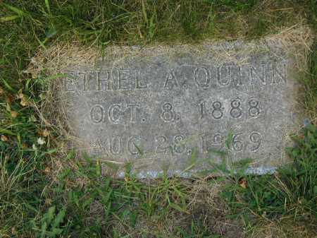 QUINN, ETHEL A - Douglas County, Nebraska | ETHEL A QUINN - Nebraska Gravestone Photos