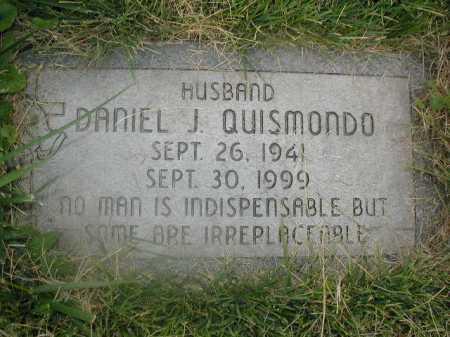QUISMONDO, DANIEL J - Douglas County, Nebraska | DANIEL J QUISMONDO - Nebraska Gravestone Photos