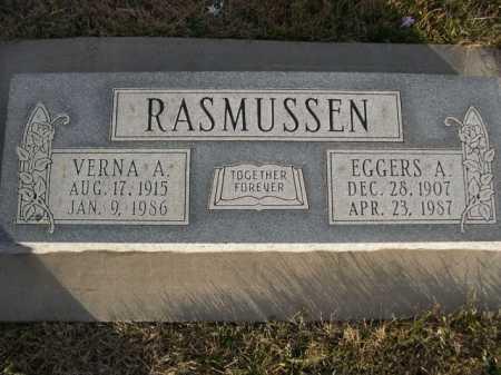 RASMUSSEN, VERNA A. - Douglas County, Nebraska | VERNA A. RASMUSSEN - Nebraska Gravestone Photos
