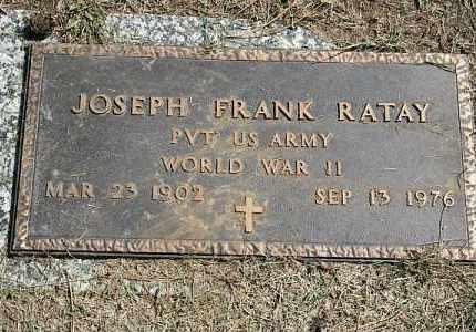 RATAY, JOSEPH FRANK - Douglas County, Nebraska   JOSEPH FRANK RATAY - Nebraska Gravestone Photos