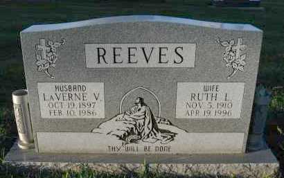 REEVES, RUTH L. - Douglas County, Nebraska   RUTH L. REEVES - Nebraska Gravestone Photos