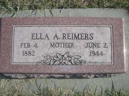REIMERS, ELLA - Douglas County, Nebraska | ELLA REIMERS - Nebraska Gravestone Photos