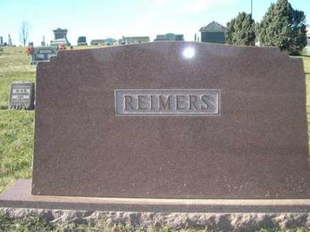 REIMERS, FAMILY - Douglas County, Nebraska | FAMILY REIMERS - Nebraska Gravestone Photos