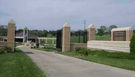 *RESURECTION CEMETERY, ENTRANCE TO. - Douglas County, Nebraska | ENTRANCE TO. *RESURECTION CEMETERY - Nebraska Gravestone Photos