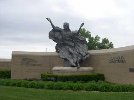 *RESURECTION CEMETERY, SCULPTURE FOR - Douglas County, Nebraska | SCULPTURE FOR *RESURECTION CEMETERY - Nebraska Gravestone Photos