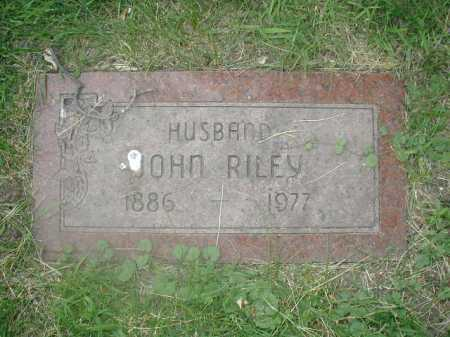 RILEY, JOHN - Douglas County, Nebraska | JOHN RILEY - Nebraska Gravestone Photos