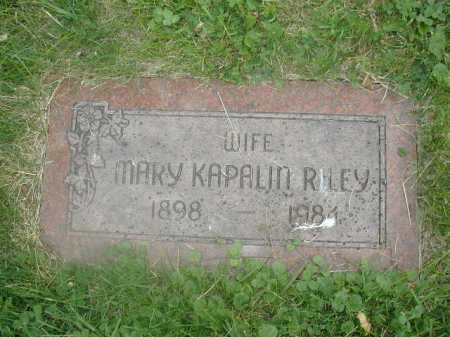 RILEY, MARY - Douglas County, Nebraska   MARY RILEY - Nebraska Gravestone Photos