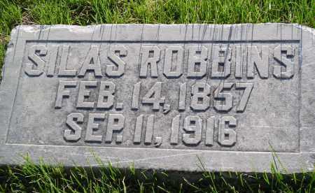 ROBBINS, SILAS - Douglas County, Nebraska | SILAS ROBBINS - Nebraska Gravestone Photos