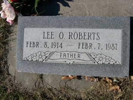 ROBERTS, LEE O. - Douglas County, Nebraska | LEE O. ROBERTS - Nebraska Gravestone Photos