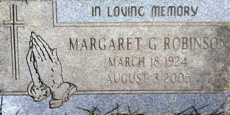 GREEN ROBINSON, MARGARET - Douglas County, Nebraska | MARGARET GREEN ROBINSON - Nebraska Gravestone Photos