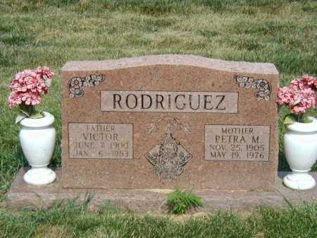 RODRIGUEZ, VICTOR - Douglas County, Nebraska | VICTOR RODRIGUEZ - Nebraska Gravestone Photos