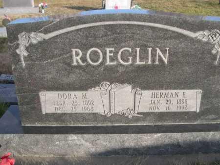 ROEGLIN, DORA M. - Douglas County, Nebraska | DORA M. ROEGLIN - Nebraska Gravestone Photos