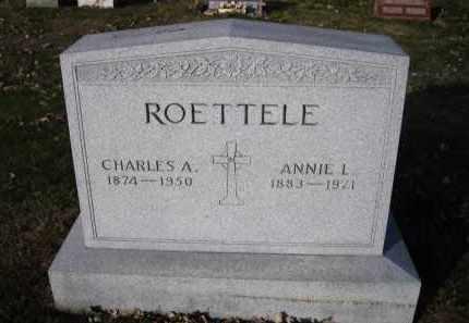 ROETTELE, ANNIE L. - Douglas County, Nebraska   ANNIE L. ROETTELE - Nebraska Gravestone Photos