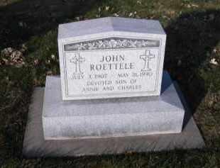 ROETTELE, JOHN - Douglas County, Nebraska | JOHN ROETTELE - Nebraska Gravestone Photos
