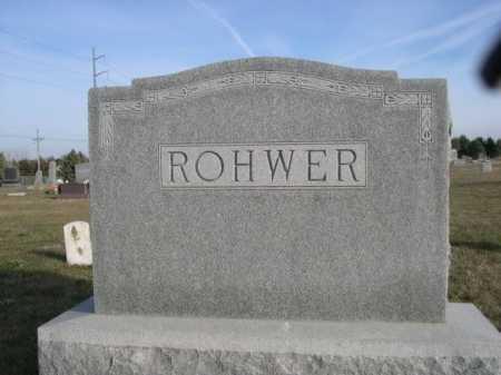 ROHWER, FAMILY - Douglas County, Nebraska | FAMILY ROHWER - Nebraska Gravestone Photos