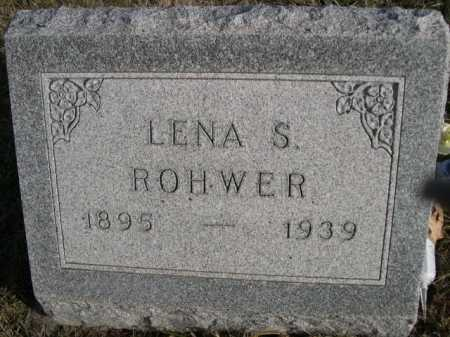ROHWER, LENA S. - Douglas County, Nebraska   LENA S. ROHWER - Nebraska Gravestone Photos