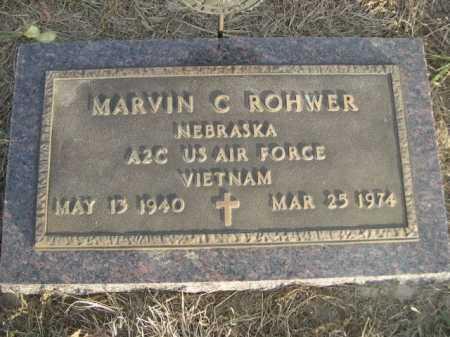 ROHWER, MARVIN C. - Douglas County, Nebraska | MARVIN C. ROHWER - Nebraska Gravestone Photos