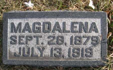 ROHWER, MAGDALENA - Douglas County, Nebraska | MAGDALENA ROHWER - Nebraska Gravestone Photos