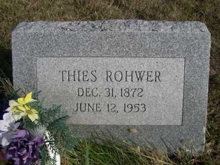 ROHWER, THIES - Douglas County, Nebraska | THIES ROHWER - Nebraska Gravestone Photos