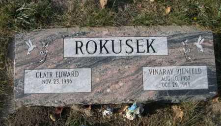 ROKUSKE, CLAIR EDWARD - Douglas County, Nebraska | CLAIR EDWARD ROKUSKE - Nebraska Gravestone Photos