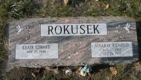 ROKUSKE, VINARAY RIENFELD - Douglas County, Nebraska   VINARAY RIENFELD ROKUSKE - Nebraska Gravestone Photos