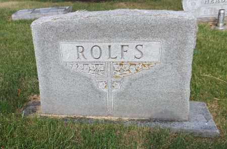 ROLFS, FAMILY - Douglas County, Nebraska | FAMILY ROLFS - Nebraska Gravestone Photos