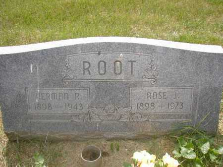 ROOT, ROSE J - Douglas County, Nebraska | ROSE J ROOT - Nebraska Gravestone Photos