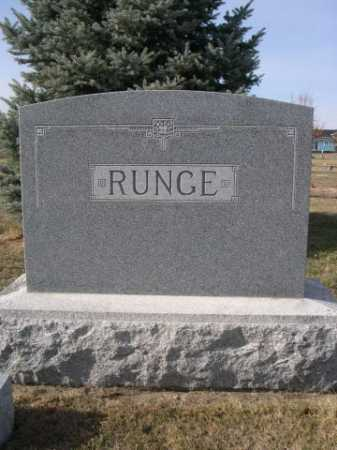 RUNGE, FAMILY - Douglas County, Nebraska | FAMILY RUNGE - Nebraska Gravestone Photos