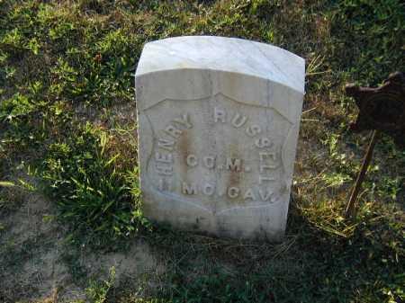 RUSSELL, HENRY L - Douglas County, Nebraska   HENRY L RUSSELL - Nebraska Gravestone Photos