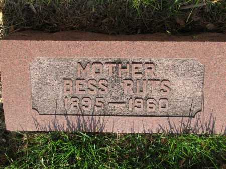 PECHA RUTS, BESS - Douglas County, Nebraska | BESS PECHA RUTS - Nebraska Gravestone Photos