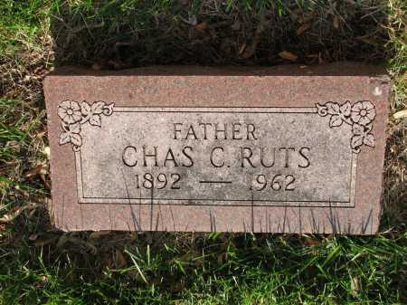 RUTZ-RUTS, CHARLES C - Douglas County, Nebraska | CHARLES C RUTZ-RUTS - Nebraska Gravestone Photos