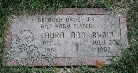 RYBIN, LAURA ANN - Douglas County, Nebraska | LAURA ANN RYBIN - Nebraska Gravestone Photos