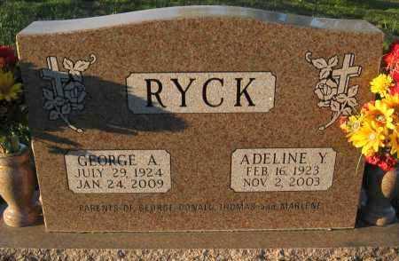 RYCK, ADELINE Y. - Douglas County, Nebraska | ADELINE Y. RYCK - Nebraska Gravestone Photos