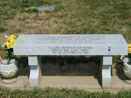 SCIGO SANDEL, DOROTHY MAE - Douglas County, Nebraska | DOROTHY MAE SCIGO SANDEL - Nebraska Gravestone Photos