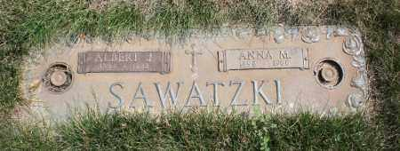 SAWATZKI, ALBERT J. - Douglas County, Nebraska | ALBERT J. SAWATZKI - Nebraska Gravestone Photos