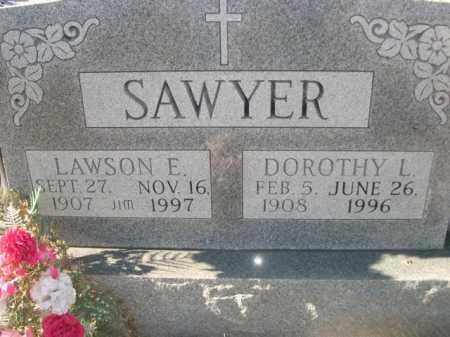 SAWYER, LAWSON E. - Douglas County, Nebraska | LAWSON E. SAWYER - Nebraska Gravestone Photos